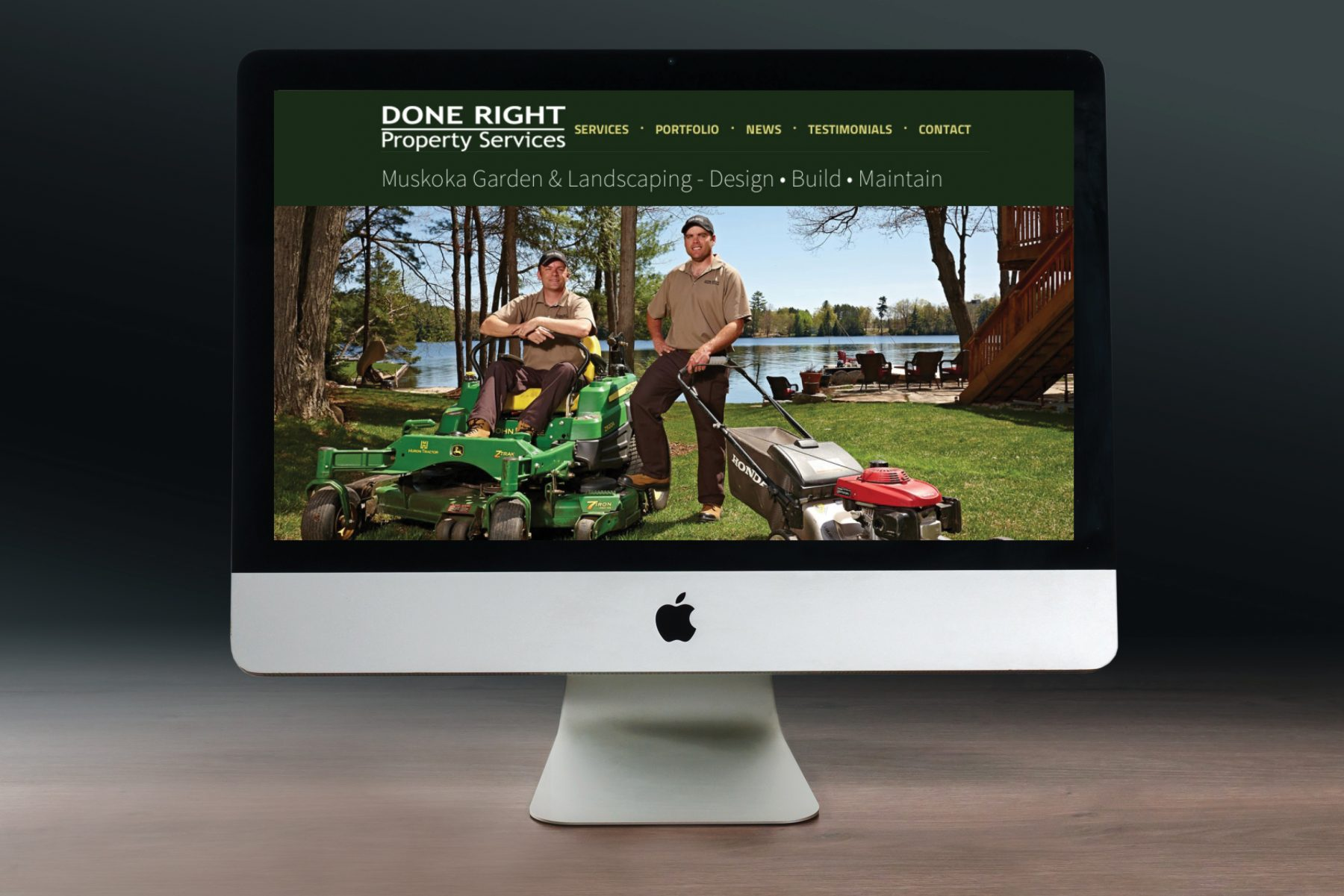 Done Right Property Services Website